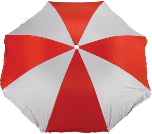Guarda Sol Praia E Camping 1,80 Metros Vermelho Mor 3719
