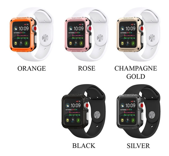 Case Protector De Lujo Apple Watch Uso Rudo Serie 4