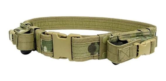 Cinturón Táctico Militar Kdb-009 Multifuncional