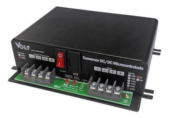 Conversor Dc/dc Microcontrolado E Isolado 24v/12v/5a