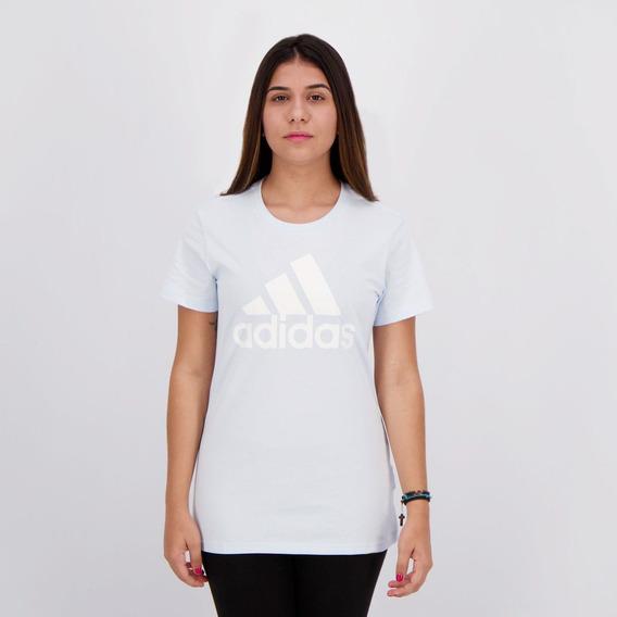 Camiseta adidas Bosco Tee Feminina Azul