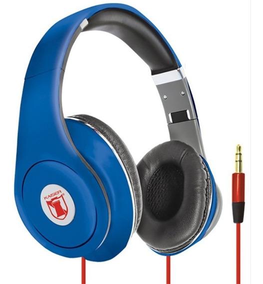 Audifonos Profesionales St 3.5 Diadema T-beats Azul Kaiser