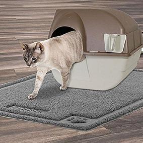 Shunai Cat Litter Mat Extra Large 35x25 Alfombra De Alimenta