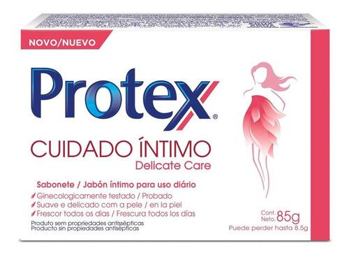Sabonete Íntimo Barra Protex Delicate Care 85g
