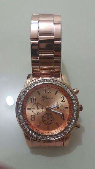 Relógio Feminino - Pura Presença- Para Pessoas Que Marcam.