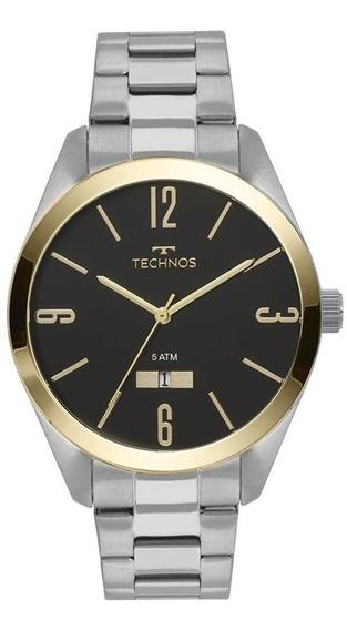 Relógio Technos Masculino Classic Steel 2115mnv/1p
