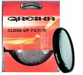 Filtro Close Up Greika +4 De 49mm Macrofotografia Ampliação