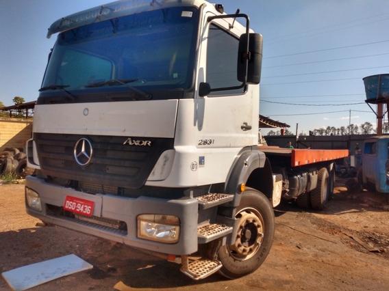 Cód. 56 Caminhão Mercedes Benz 2831 Com Plataforma Guincho