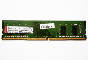 Memoria 4gb Ddr4 2400 Mhz Kingston Pc4-2400