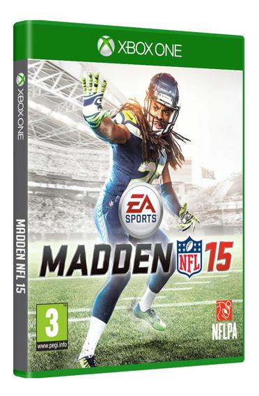 Jogo Madden Nfl 15 - Xbox One Mídia Física