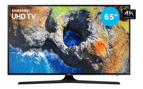 Smart Tv 4k 65 Uhd Samsung Wi-fi 3 Hdmi 2 Usb Mu6100