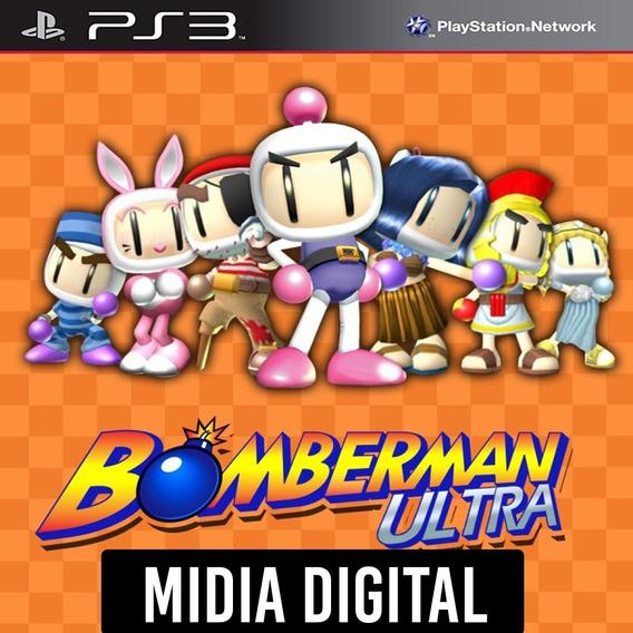 Ps3 - Bomberman Ultra