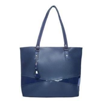 Bolso Plus Talia Azul Grande Premium