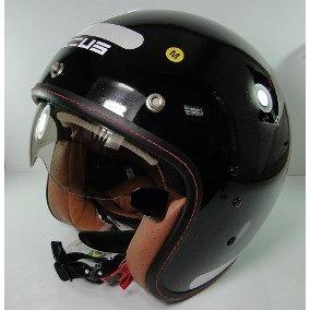 Capacete Zeus Aberto 380fa - Vintage Cafe Racer Bubble