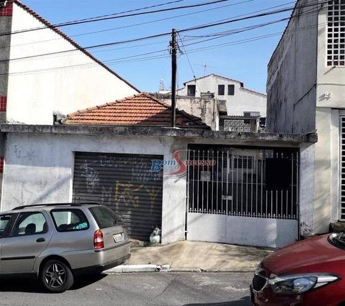 Terreno À Venda, 200 M² Por R$ 550.000,00 - Vila Formosa - São Paulo/sp - Te0358