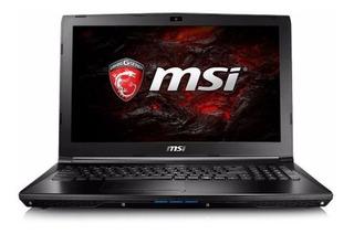 Msi Gl62 Gaming I7-7700hq Gtx 1050m 8gb 1tb A Pedido En Caja