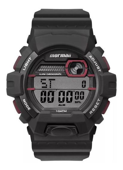 Relógio Mormaii Masculino Wave Preto Mo8090ac8r