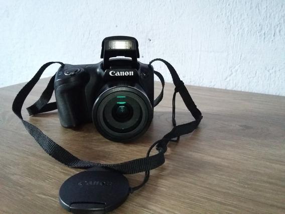 Canon: Câmera Digital Canon Powershot Sx400is Preta