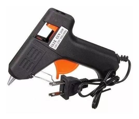 Pistola Encoladora Silicona Eléctrica 20w Barra Fina