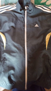 Chamarra adidas Impermeable Talla 180 S M/s Gris