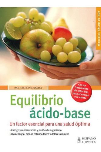 Imagen 1 de 3 de Equilibrio Acido Base, Kraske, Hispano Europea