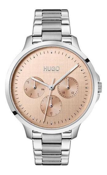 Reloj Hugo By Hugo Boss Dama Color Plateado 1540015 - S007