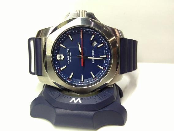 Reloj Victorinox Inox Azul Nuevo