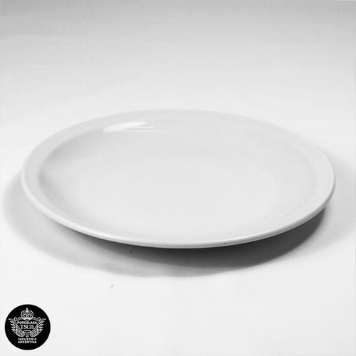 Plato Playo 25cm Tsuji Porcelana Linea 450 Con Sello X 12 U.