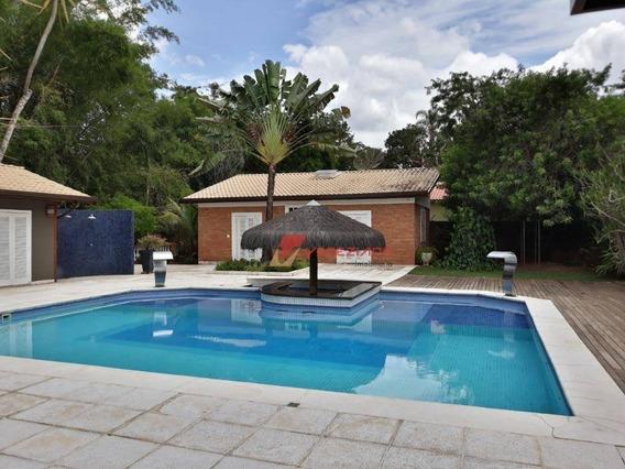 Rancho Espetacular | Tudo De Bom |120 Mts De Beira De Rio | 06 Dormitórios | Documentação Perfeita. - Ch0098