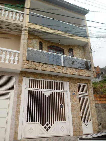 Sobrado Com 2 Dormitórios À Venda, 282 M² Por R$ 600.000 - So1477