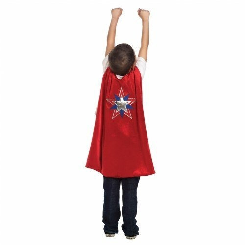 Little Adventures Super Hero Cape - Americano (rojo)