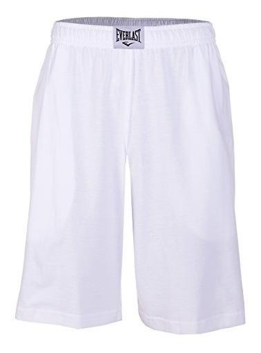Everlast V47053 Short Deportivo Para Hombre, Color Blanco,