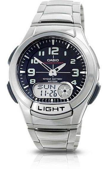 Relógio Casio - Aq-180wd-1bvdf - Anadigi