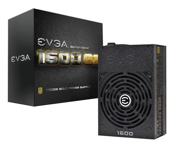 Fonte Evga 1600w 80 Plus Gold Modular Supernova