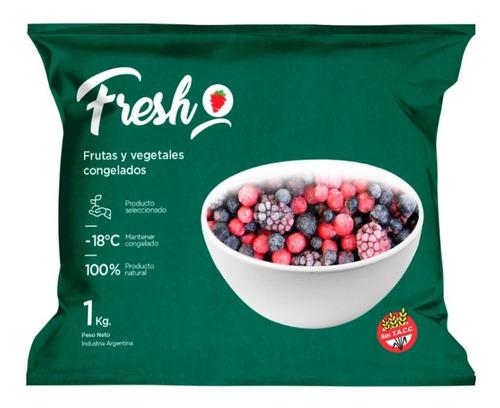 Imagen 1 de 6 de Mix Frutos Rojos Congelados Fresh X 1kg