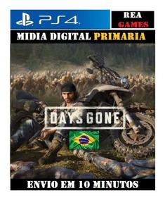 Days Gone Ps4 Digital 1 Original Totalmente Em Português