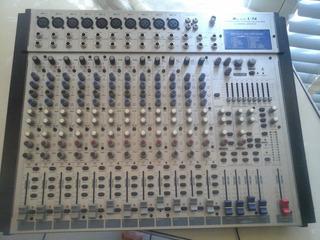 Mesa De Mezcla De 16 Canales Con Efectos Digitales Alto L-16