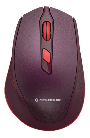 Wireless Mouse Galaxy Vermelho Goldship