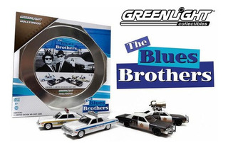 Greenlight The Blues Brothers 1/64 Hollywood Film Series 1