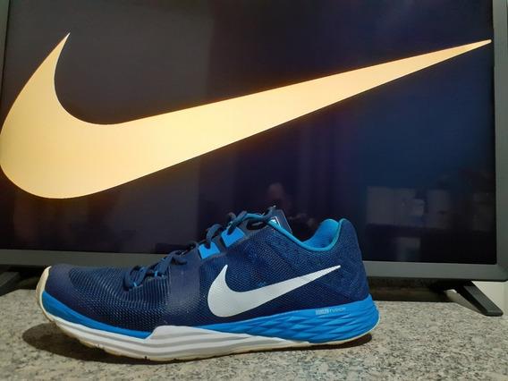 Tênis Nike Trainning 43 Azul Super Resistente E Seminovo