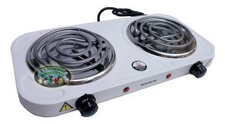 Parrilla / Estufa Electrica 2 Quemadores Control Temperatura
