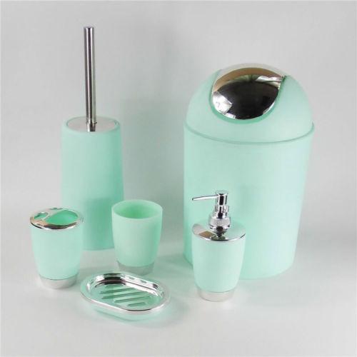Cuarto De Baño Accesorios Cubo Dispensador... (mint Green)