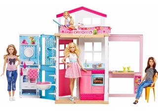Barbie Casa Glam Mansión 2 Pisos Dvv48 Muñecas Sueños