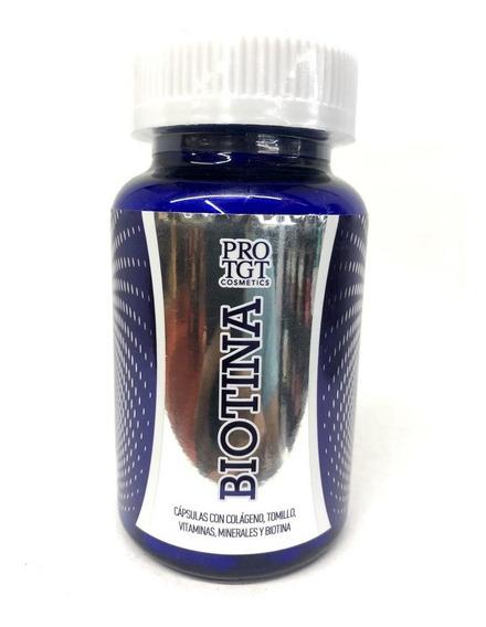 Biotina 500 Mg 30 Cápsulas Pro Tgt Cosmetics.