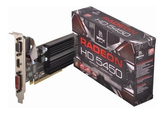 Placa De Video Radeon Hd 5450 1gb Hdmi, Dvi, Vga, Pci-e 2.0