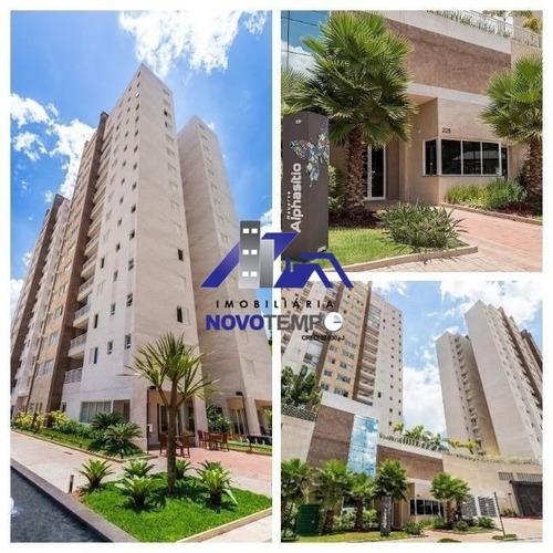 Apartamento A Venda Em Alphaville, 3 Dorm, Sendo 1 Suite - Alpha Sitio - Ap00498 - 68197407