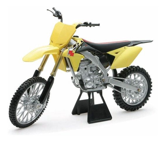 Moto Suzuki Rm-z450 Esc. 1:12 Newray 16cm Supertoys Palermo