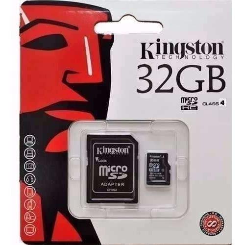 Cartão Memória Kingston 32gb Origina Motorol Samsung Sony Lg