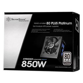 Fonte Atx - 850w - Silverstone Strider Platinum Series St85f