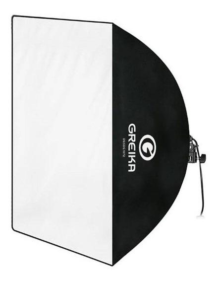 Soft Box Greika + Tripé De Iluminação Weinfeng W803